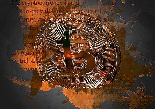 žhavý bitcoin
