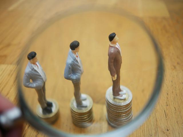 finance, růst, lupa
