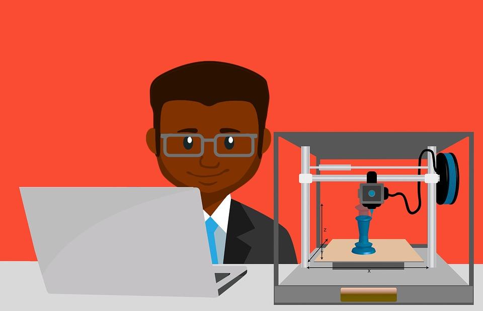 programování 3D tiskárny